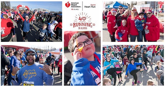 alaska heart run anchorage collage