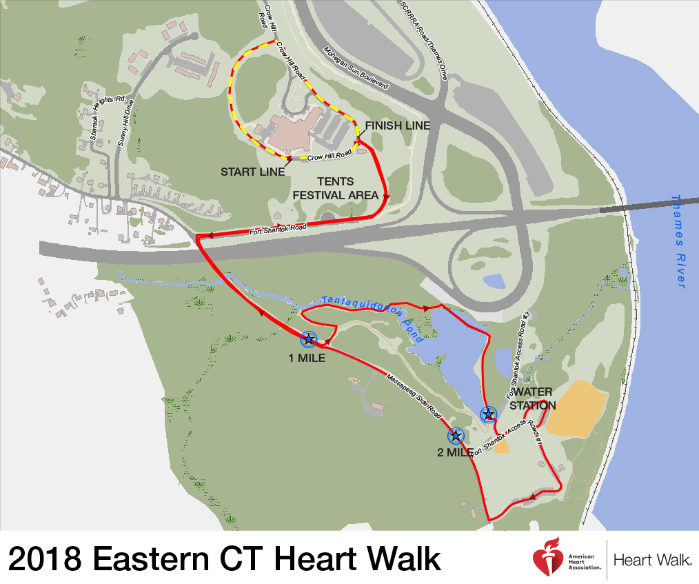 2018 eastern connecticut heart walk event information heart walk eastern ct map new logo publicscrutiny Image collections