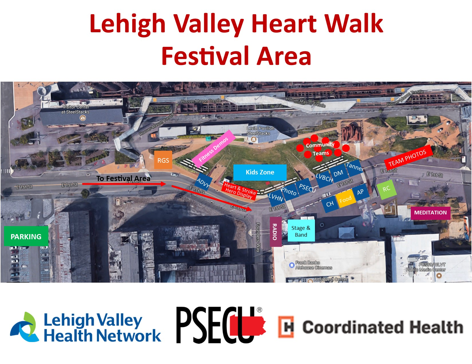 Lehigh Updated Festival Map
