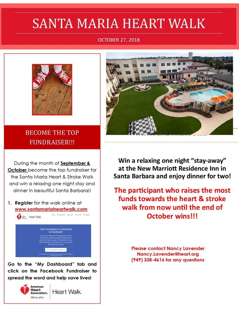 WSA Santa Maria October Fundraiser