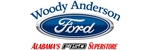 Woody Anderson Ford logo