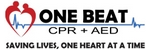 One Beat CPR and AED logo