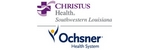 Christus Health Southwest Louisiana-Ochsner Health System logo