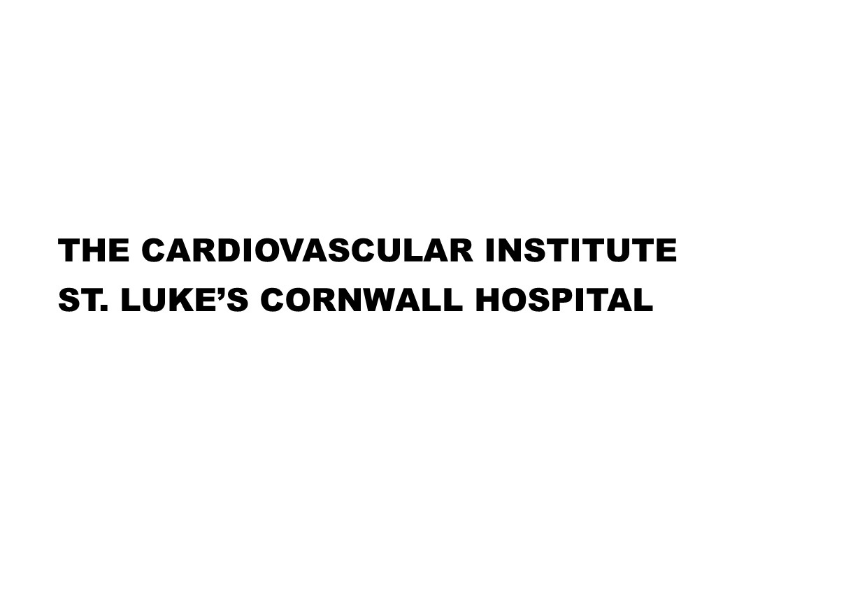 Cardiology Institute