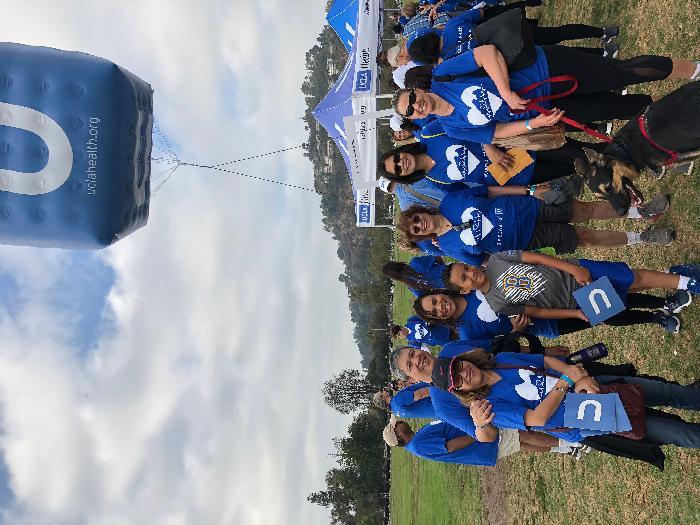 2018 Los Angeles Heart Walk: UCLA Health - 6North - Heart Walk