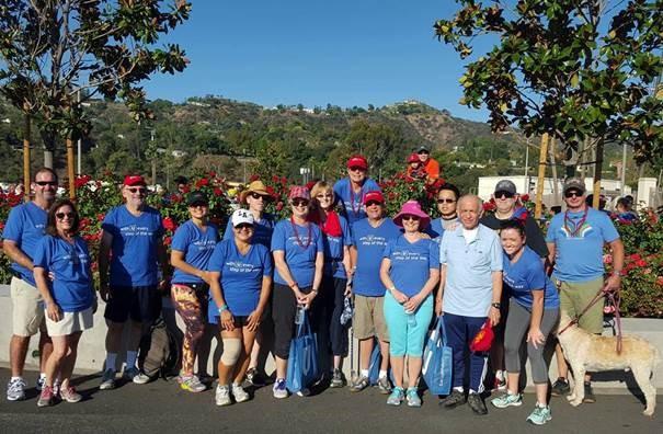 2018 Los Angeles Heart Walk: UCLA Health - Rehab Services