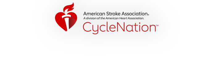 American Heart Association CycleNation - Color Logo