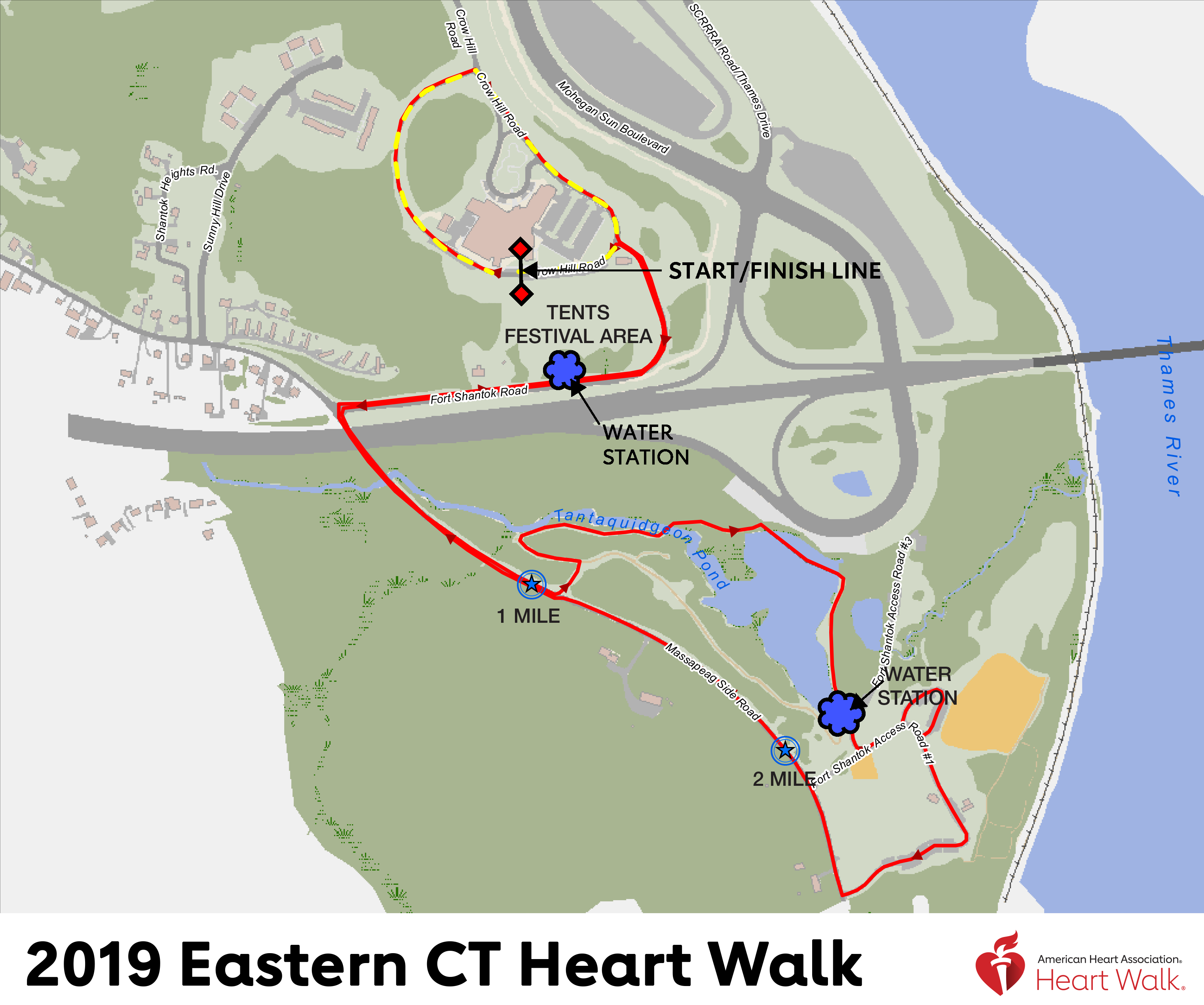 ECtHW Map New Start Line