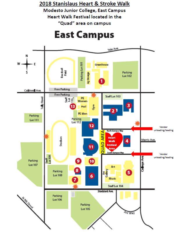 Mjc East Campus Map Park Ideas