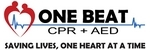 OneBeat CPR and AED logo