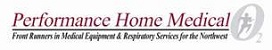 E Performance Home Medical scrolling logo