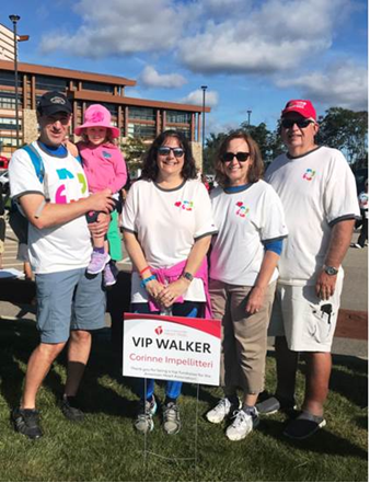 Corinne's RX Walkers fundraising page