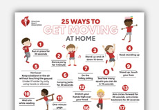 25 Ways to Get Moving